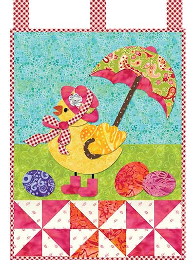 April Little Blessings Wall Hanging Pattern