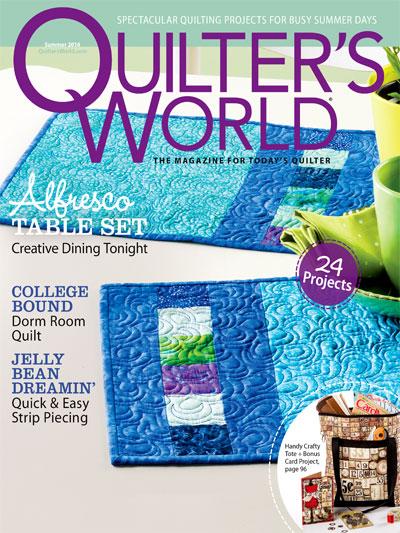 Quilter's World Summer 2014
