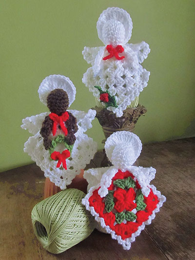 Granny's Little Angels Crochet Pattern - Electronic Download