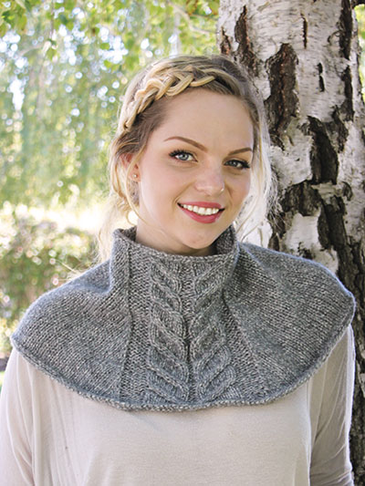 ANNIE'S SIGNATURE DESIGNS: Zona Slate Cowl Knit Pattern