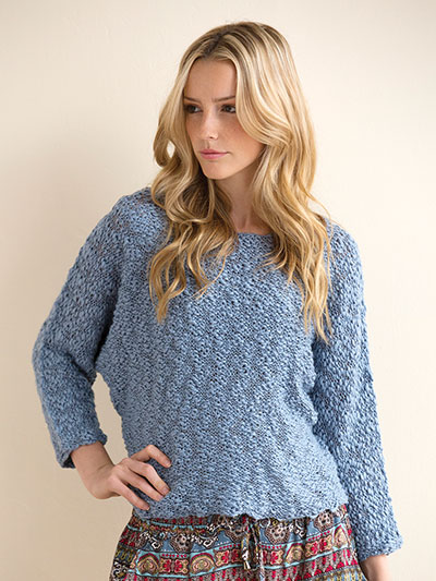 Seattle Dolman Top Knit Pattern