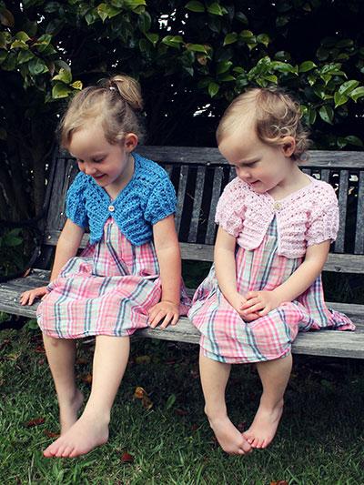 Ribbing & Lace Bolero's Crochet Pattern