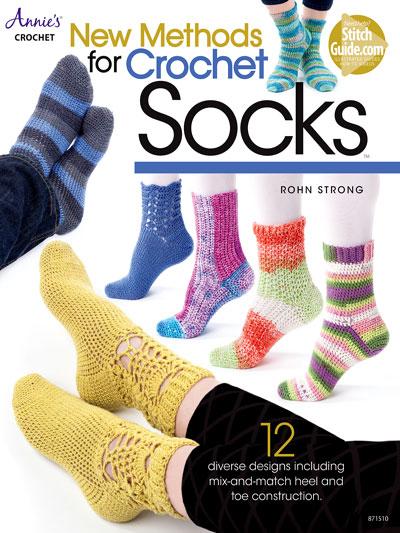 New Methods for Crochet Socks Pattern Book