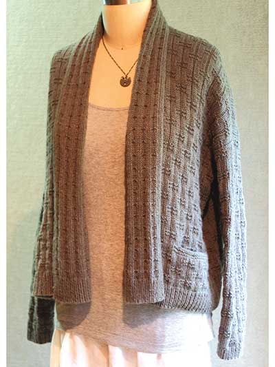 Lovesee Road Cardigan Knit Pattern