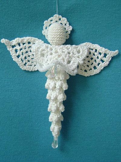 Icicle Angel Crochet Pattern