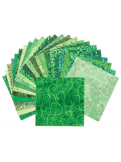 Emerald Forest Charm Pack - 24/pkg.