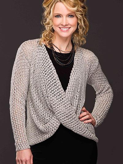 Star Mesh Top Knit Pattern