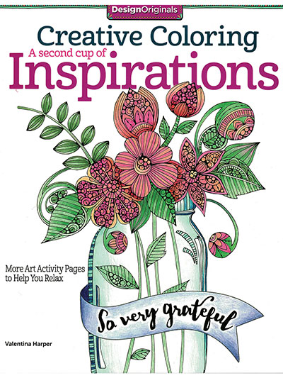 Creative Coloring: A Second Cup of Inspirations Coloring Book