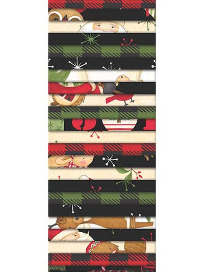 Santa & Friends Jelly Roll - 24/pkg.