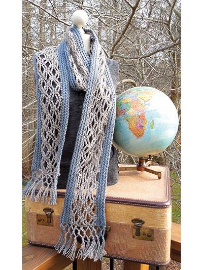 Strait Laced Scarf Crochet Pattern