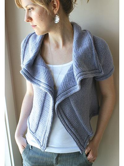 Lilas Cardigan Knit Pattern