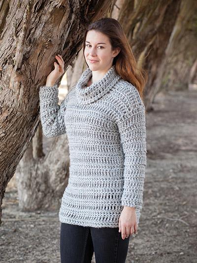ANNIE'S SIGNATURE DESIGNS: Betula Sweater Crochet Pattern