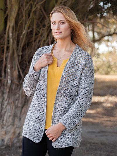 ANNIE'S SIGNATURE DESIGNS: Edna Valley Cardigan Crochet Pattern