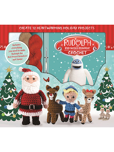 Rudolph the Red Nosed Reindeer® Crochet Kit
