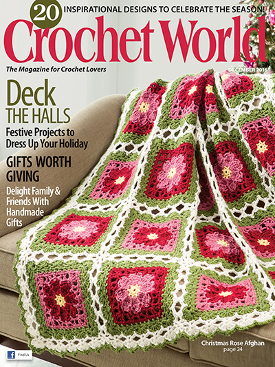 Crochet World December 2016