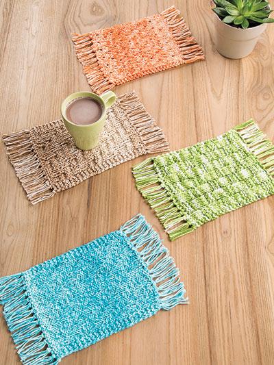 Mug Rug Knit Pattern