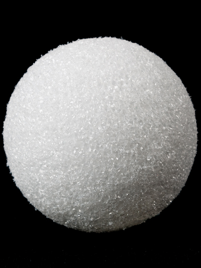FloraCraft White Styrofoam® Ball - 3