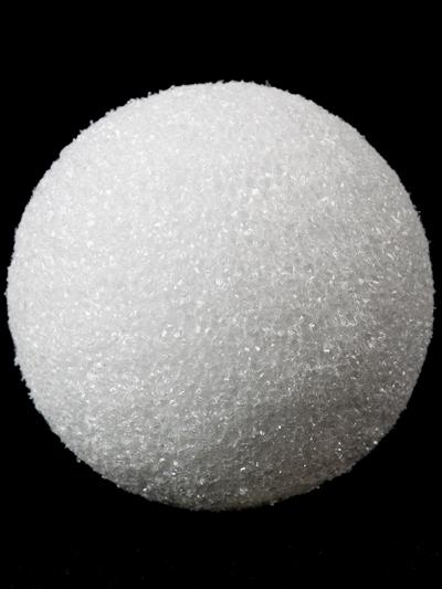 FloraCraft White Styrofoam® Ball - 3