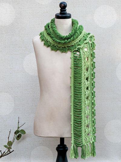 Dryad Scarf Crochet Pattern