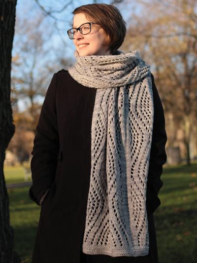 Redcedar Scarf Knit Pattern