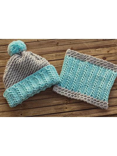 Wonderland Cable Hat & Cowl
