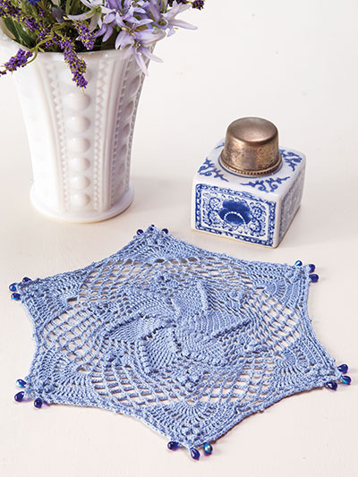Bluebell Drop Doily Crochet Pattern