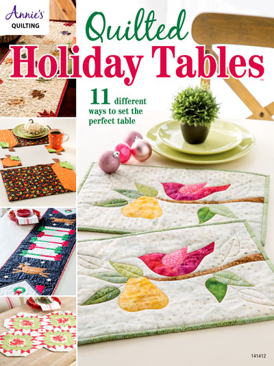 Quilted Holiday Table