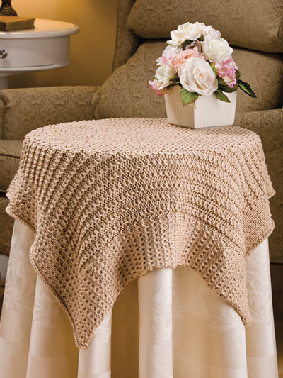 Cluster Rib Tablecloth Knit Pattern