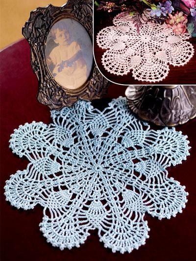 Pineapple Fans Crochet Pattern