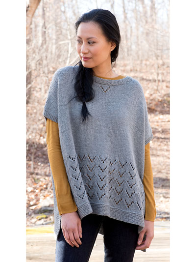 Camden Hills Poncho Knit Pattern