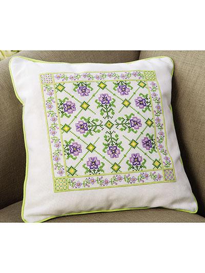 Lavender Cantara Cross Stitch Pattern