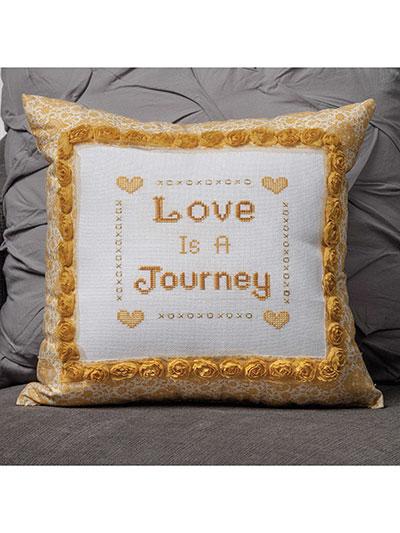 Love is a Journey Cross Stitch Pattern