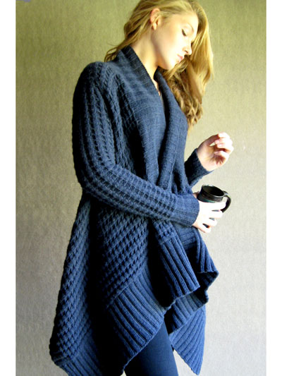Patti Ann Cardigan Knit Pattern