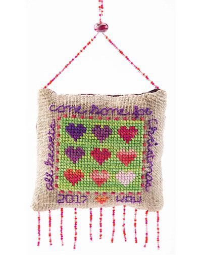 Heartful Cross Stitch Pattern