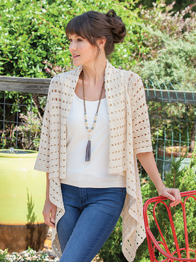 Breezy Open Mesh Cardigan