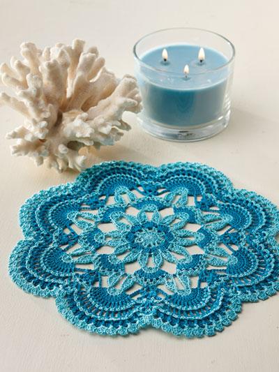 Seascape Doily Crochet Pattern