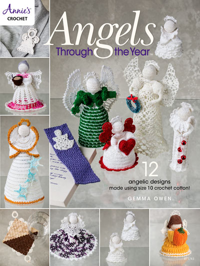 Angels Through the Year Crochet Pattern - Electronic Download
