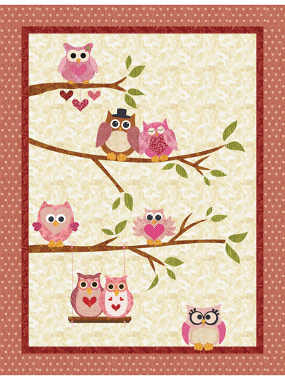 Owl You Need Is Love Pattern