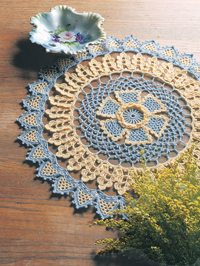 Golden Days Doily Crochet Pattern
