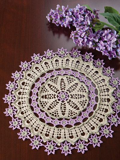 Avalon Doily Crochet Pattern