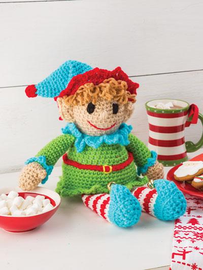 Elf Shelf Sitter Crochet Pattern - Electronic Download