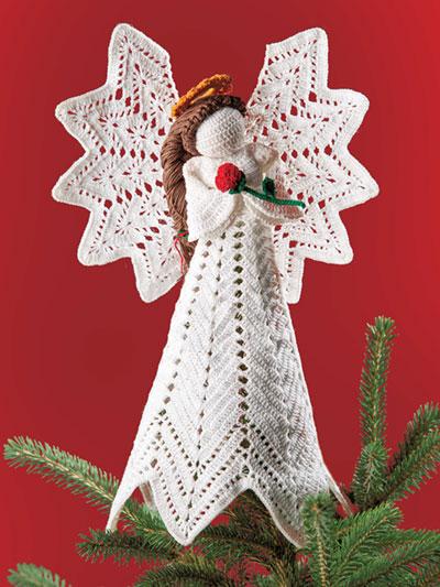 Christmas Charity Angel Crochet Patten - Electronic Download