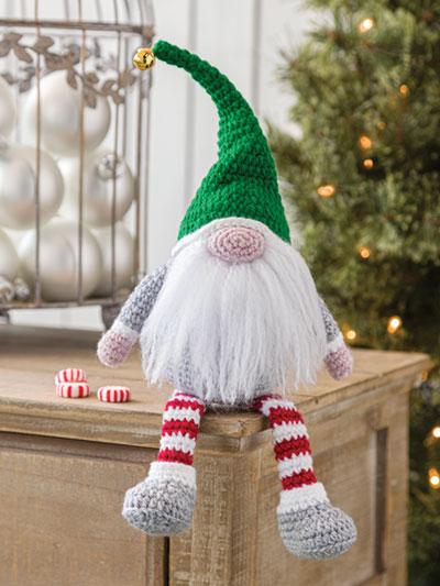 Christmas Spirit Gnome Crochet Pattern - Electronic Download