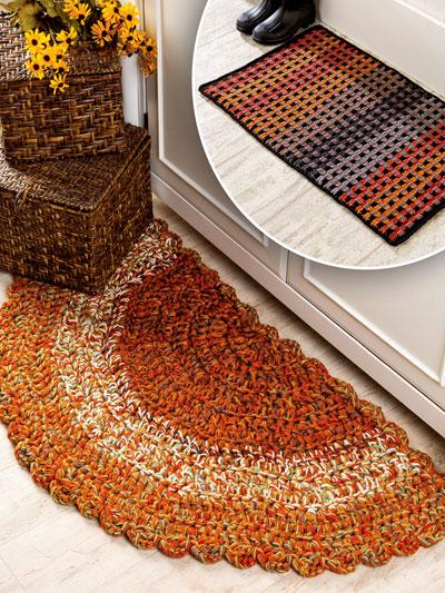 Easy Crochet Rugs Pattern
