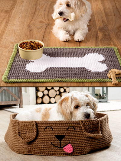 Easy Doggies Accessories Crochet Pattern