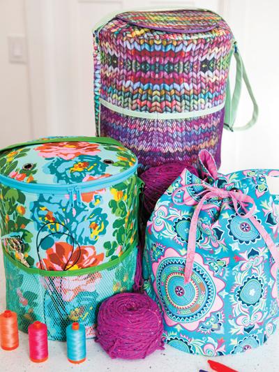 Yarn Minder Bag Sewing Pattern - Electronic Download