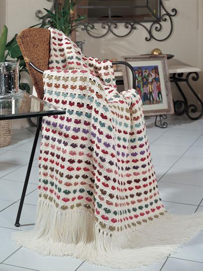 I Love Scraps Afghan Crochet Pattern