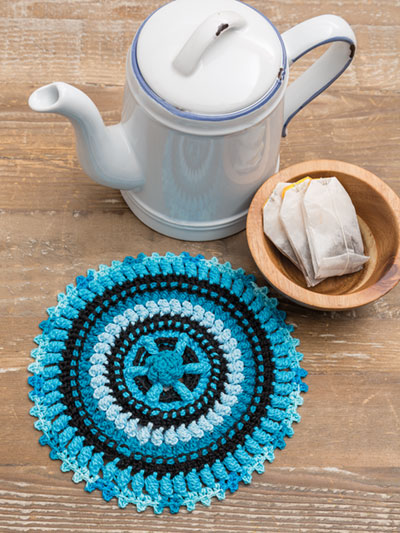 Scrappy Hot Pad Crochet Pattern