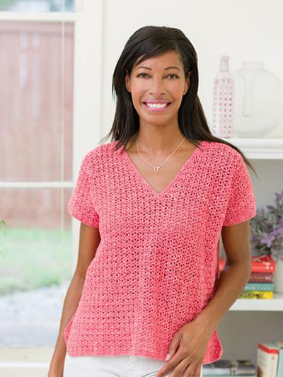 Splash of Spring Tee Crochet Pattern