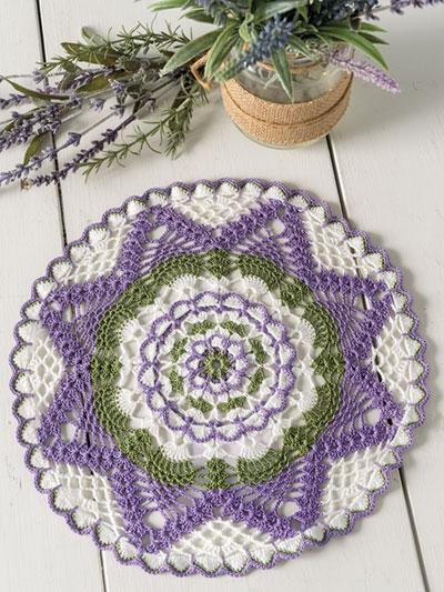 Summer Floral Doily Crochet Pattern